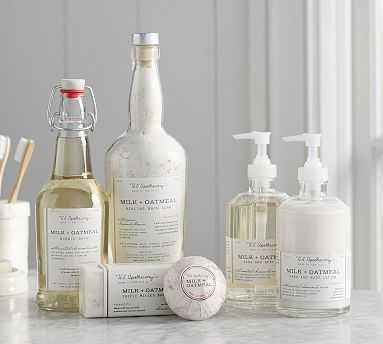U.S. Apothecary Milk & Oatmeal Collection, Lotion & Soap Set - Pottery Barn