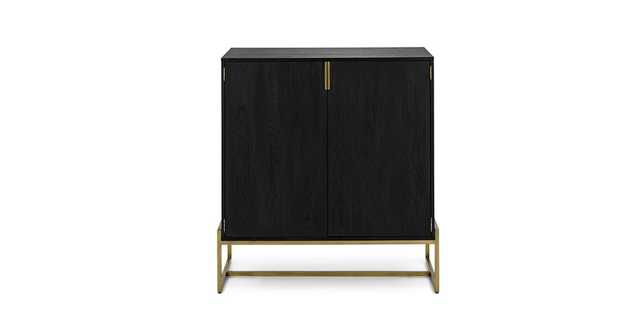 Oscuro Black Cabinet - Article
