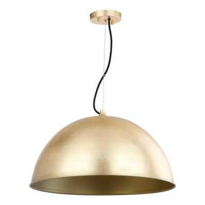 Archer Dome 21 Adjustable Pendant - Gold Leaf - Safavieh - Target