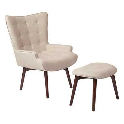 Dalton Lounge Chair and Ottoman - Wayfair