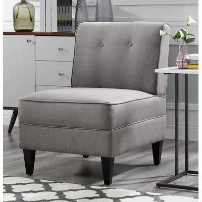 Gozzoli Tufted Slipper Chair - Wayfair