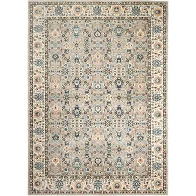 Home Dynamix Shabby Chic Juliet Praire Gray/Ivory 7 ft. 10 in. x 10 ft. Indoor Area Rug - Home Depot