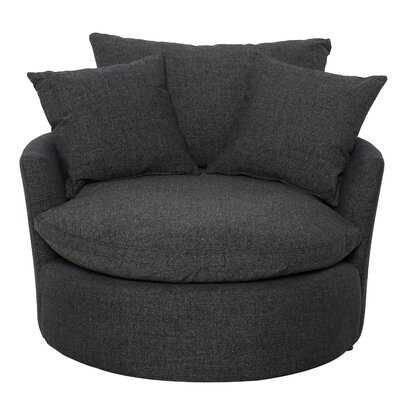 Swivel Barrel Chair - Wayfair