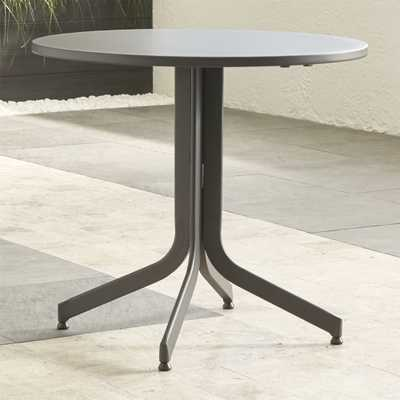 Lanai Round Fliptop Dining Table - Crate and Barrel