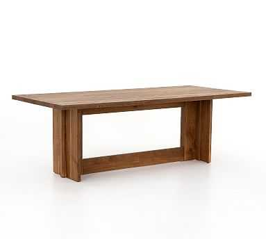 Hearst Dining Table, Dark Smoked Oak - Pottery Barn