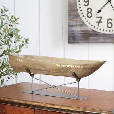 Alvaro Canoe Decor - Birch Lane