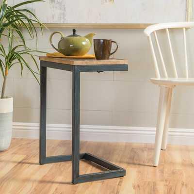 Nayara Antique End Table - Wayfair