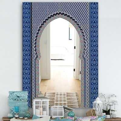 Morroco Golden Doors Traditional Frameless Wall Mirror - Wayfair