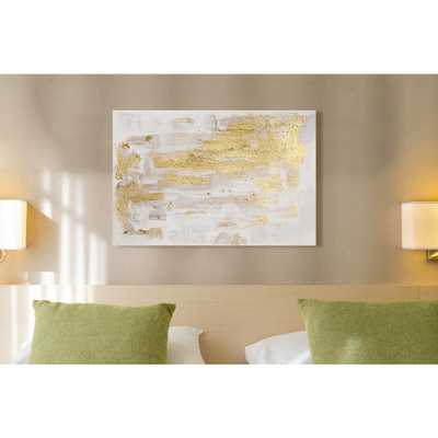 "36 in. x 24 in. 'Pure Love"" by ""Oliver Gal"" Printed Framed Canvas Wall Art - Home Depot"