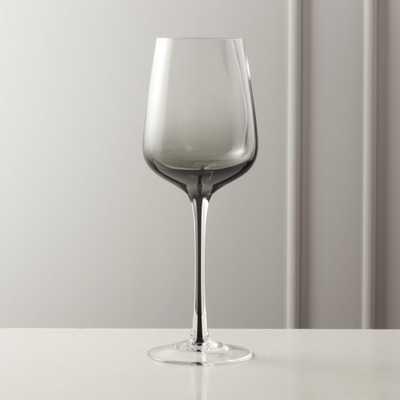 Reina Red Smoke Wine Glass - CB2