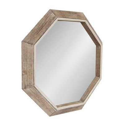 Yves Octagon Wall Mirror Other Natural - Home Depot