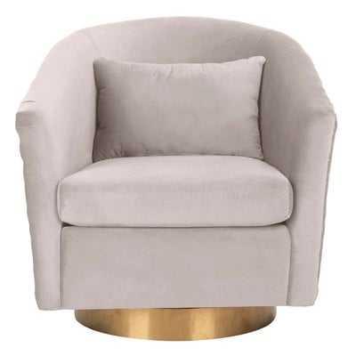 Clara Swivel Barrel Chair - Wayfair