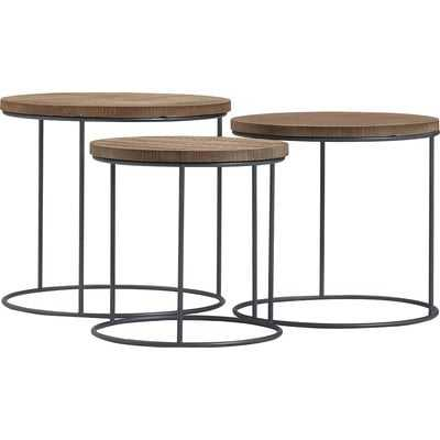 Berkshire 3 Piece Nesting Tables - Wayfair
