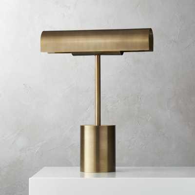 Lectura Bronze Table Lamp - CB2
