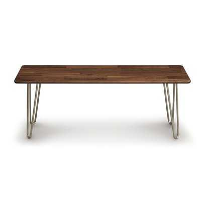Essentials Wood Bench - Wayfair