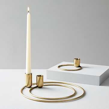 Foundations Concentric Taper Candleholders (Set of 3) - West Elm