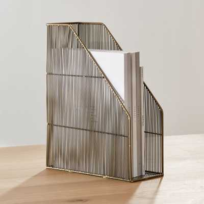 Kinsey Wire Magazine File - Crate and Barrel