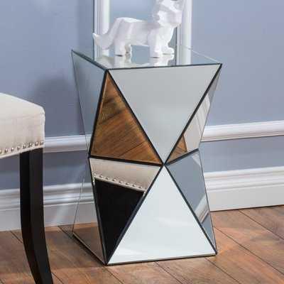 Conrad Mirrored Accent End Table - Wayfair