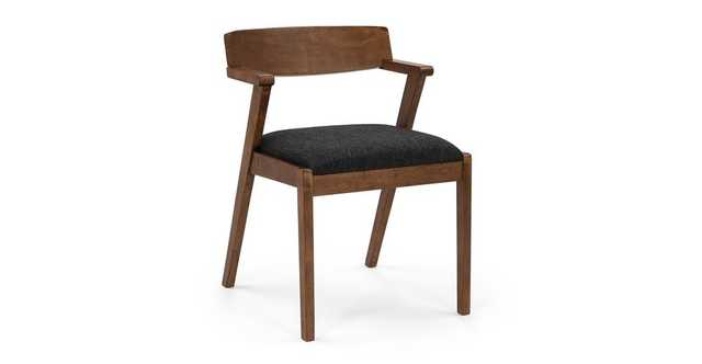Zola Licorice Dining Chair - Article