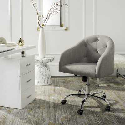 Randall Tufted Swivel Low-Back Desk Chair - Wayfair