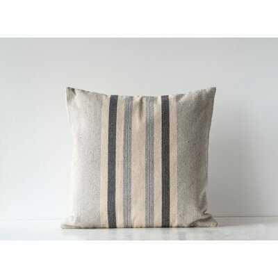 Novinger Striped Woven Cotton Throw Pillow - Birch Lane