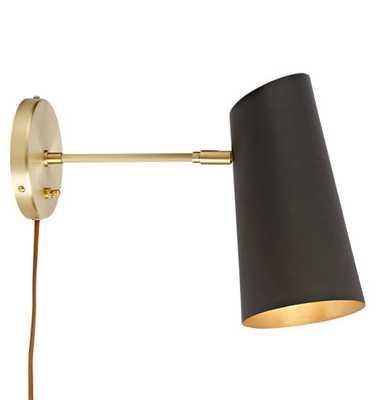 Cypress Medium Sconce Plug-In - Rejuvenation