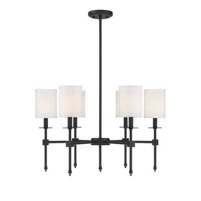 Filament Design 6-Light Classic Bronze Chandelier - Home Depot