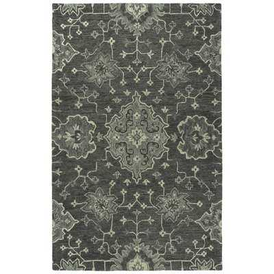 Rachael Ray Agora Collection AGO02-38 Charcoal 10 x 14 Rug by Kaleen - Wayfair