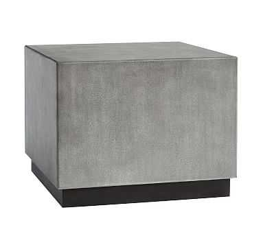 Byron Bunching Coffee Table, Gray - Pottery Barn