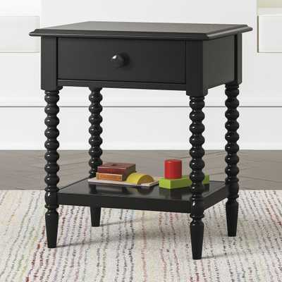 Kids Jenny Lind Black Nightstand - Crate and Barrel