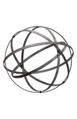 Foreside Decorative Orb, Size Small - Grey - Nordstrom