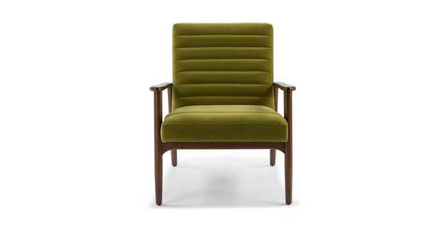 Thetis Olive Green Chair - Article