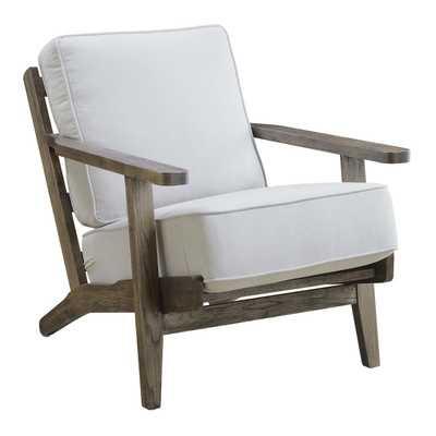 Ryder Accent Chair ANTIQUE WOOD - Eggshell - Apt2B