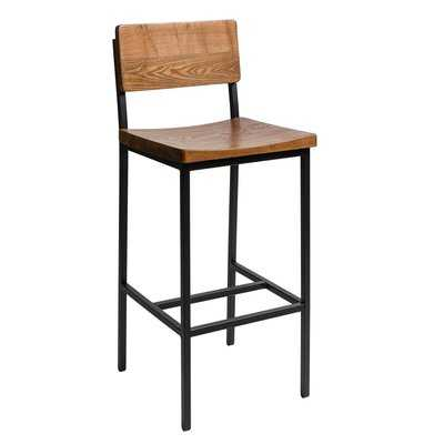 "Memphis 30.25""(Seat) Bar Stool, Autumn Rustic - Wayfair"
