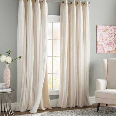 Brockham Room Darkening Thermal Grommet Curtain Panels - Birch Lane