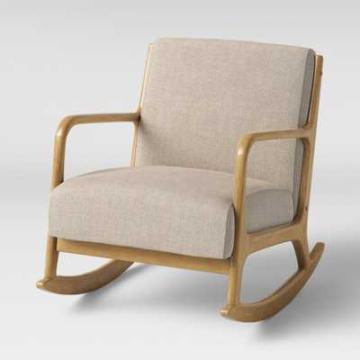 Esters Rocking Accent Chair Cream (Ivory) - Project 62 - Target