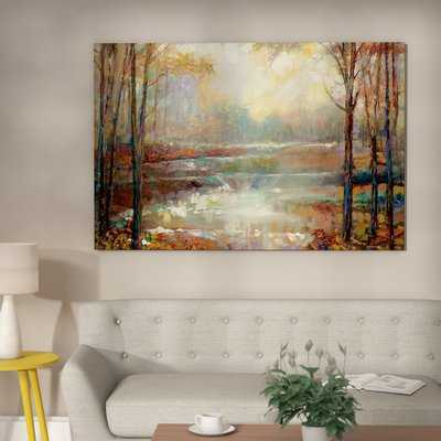 'Magical Spring' Painting Print on Canvas - Wayfair