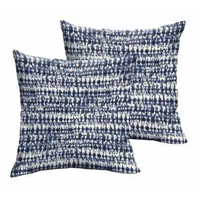 Demers Square Graphic Indoor/Outdoor Throw Pillow - Wayfair