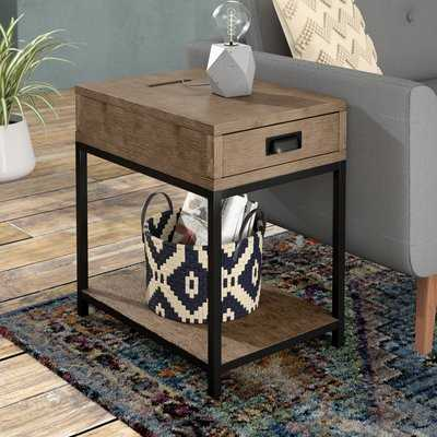 Upson Wood End Table - Wayfair