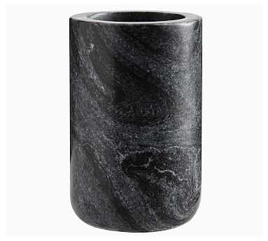 Black Marble Accessories, Toothbrush Holder - Pottery Barn