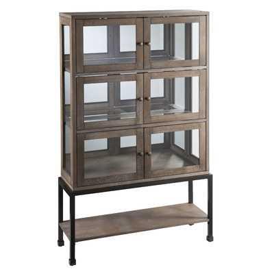 Pantin Lighted Curio Cabinet - Wayfair