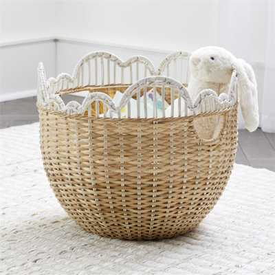 Cloud Floor Basket - Crate and Barrel