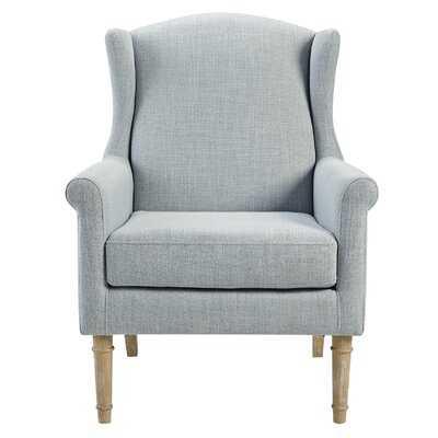 Jaxx Wingback Chair / Light Blue - Wayfair