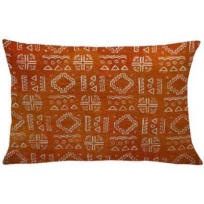 Lewis-McNeil Mud Cloth Linen Lumbar Pillow - Wayfair