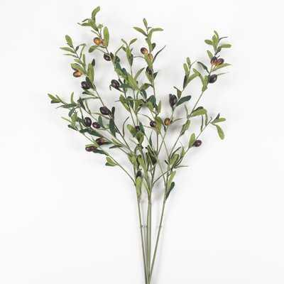 Olive Decor Branch (set of 4) - Wayfair