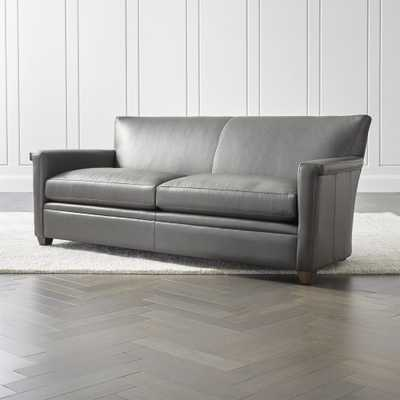 Declan Leather Sofa - Crate and Barrel