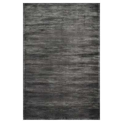Maggie Hollywood Regency Watery Iron Grey Rug - 5x7'6 - Kathy Kuo Home