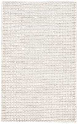 Calista Natural Solid White Area Rug (8'X10') - Collective Weavers