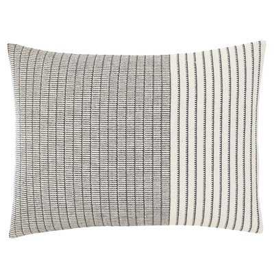 Akira Shibori Stitching Lumbar Pillow - Wayfair