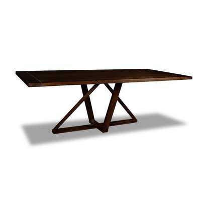 Nuss Solid Wood Dining Table - Wayfair